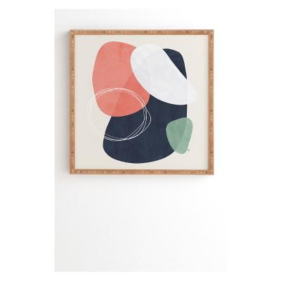 30  x 30  Tracie Andrews Orion Framed Wall Art Black - society6