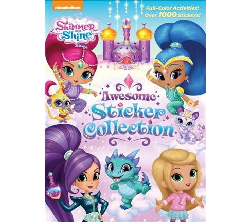 Shimmer and Shine Awesome Sticker Collection (Paperback) - image 1 of 1