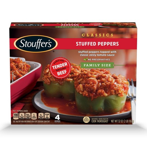 Stouffer's Family Size Stuffed Frozen Peppers - 32oz - image 1 of 4