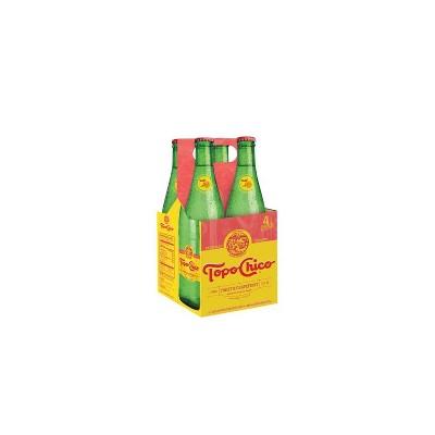 Topo Chico Grapefruit Water - 4pk/12 fl oz Glass Bottles