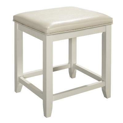 Vista Vanity Stool White - Crosley