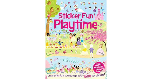 Sticker Fun Adventures : Create Scenes With over 1500 Stickers (Paperback) (Oakley Graham & Susan Mayes) - image 1 of 1