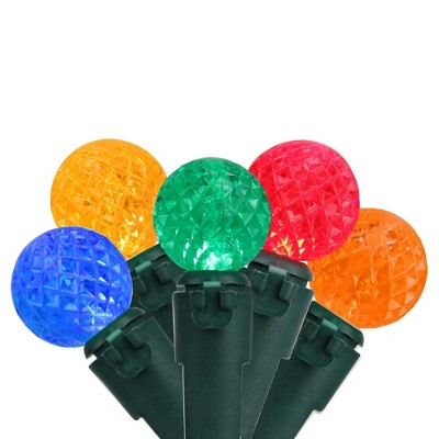 Brite Star 50ct G12 Berry LED String Lights Multi-Color - 16.6' Green Wire