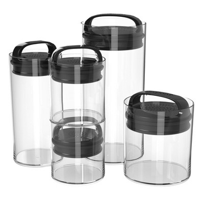 Household Food or Beverage Storage Containers Black - Room Essentials™