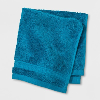 Soft Solid Washcloth Turquoise - Opalhouse™