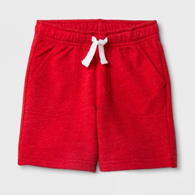 Toddler Boys' Pull-On Shorts - Cat & Jack™ Red 12M