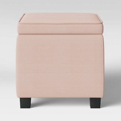 Storage Ottoman with Tray Table Blush - Room Essentials™