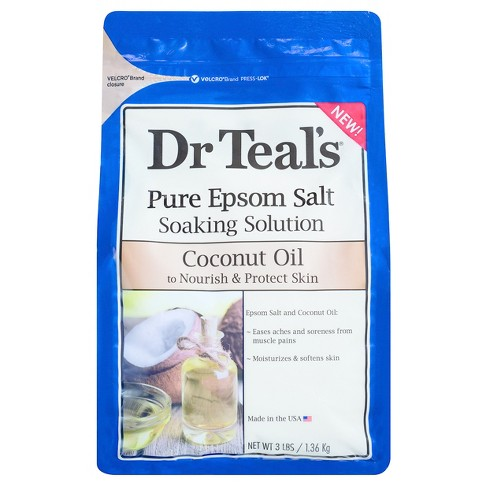 Dr Teal's® Pure Epsom Salt Soaking Solution - 3lbs - image 1 of 1