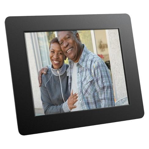Aluratek 8 Lcd Digital Photo Frame Black Admpf108f Target