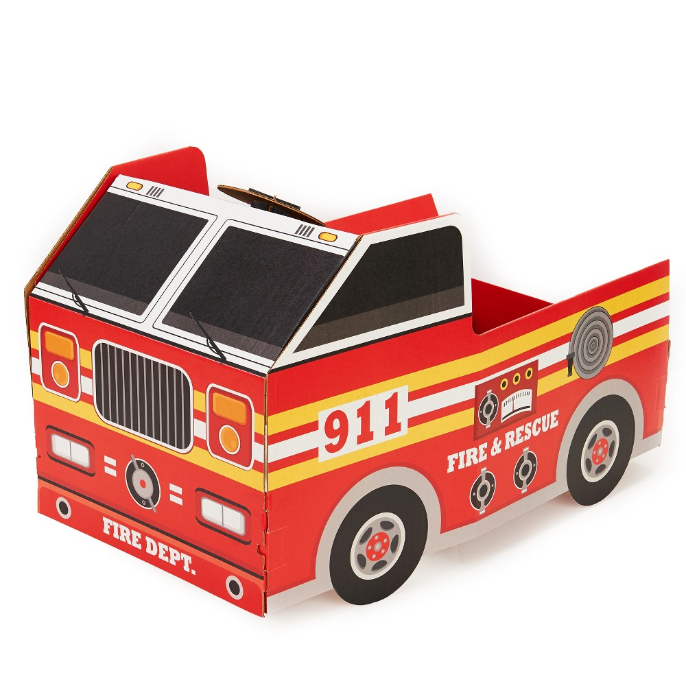 Image of PAW Patrol Fire Engine Stand Red