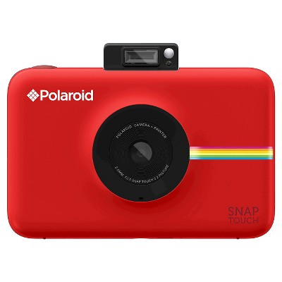 Polaroid Snap Touch Red Instant Print Digital Camera With 3.5