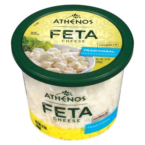 Athenos Traditional Feta Cheese - 12oz - image 1 of 1