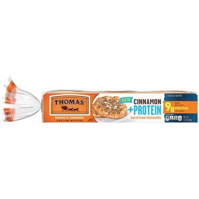 Thomas Cinnamon Protein English Muffin - 12oz