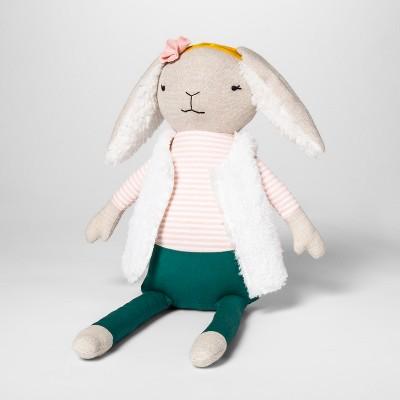 Bunny Figural Throw Pillow - Pillowfort™
