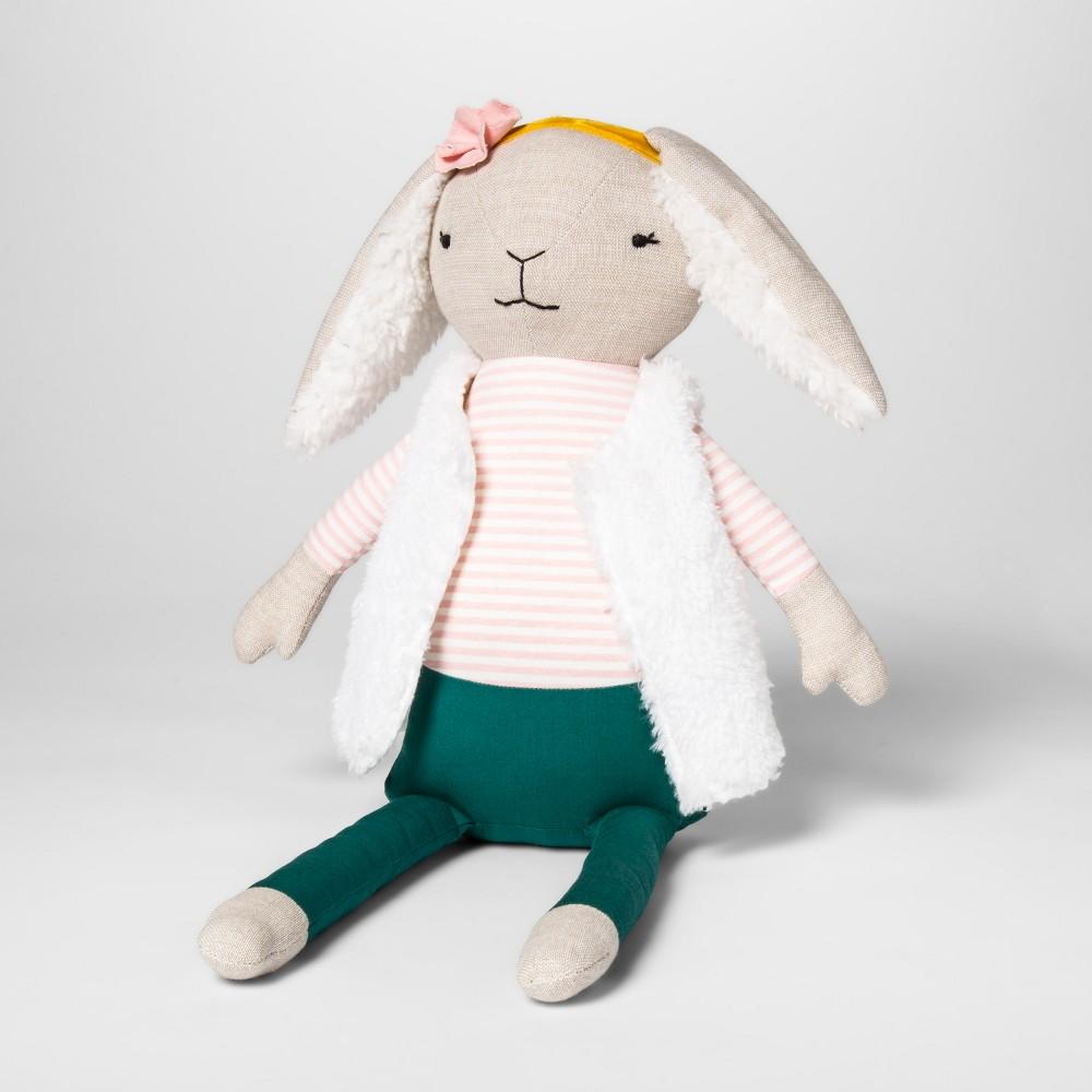 Bunny Figural Throw Pillow - Pillowfort