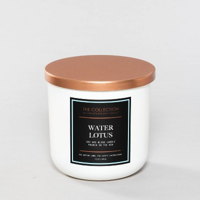 12oz Glass Jar 2-Wick Candle Water Lotus - The Collection By Chesapeake Bay Candle