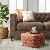 Florence Persian Rug Moroccan Inspired Pouf - Threshold™ - image 2 of 3