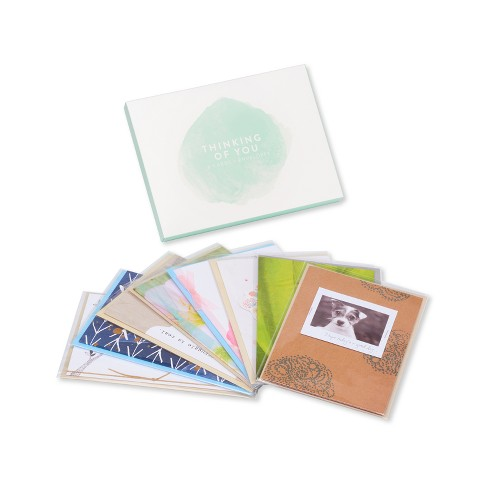 8ct American Greetings Thinking of You Greeting Card Collection - image 1 of 5