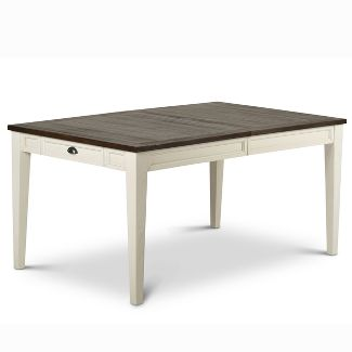Cayla Table Dark Two Tone - Steve Silver