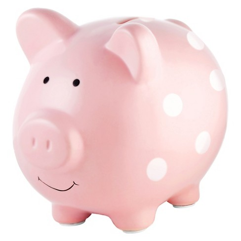 Pearhead Ceramic Piggy Bank - Medium - image 1 of 3