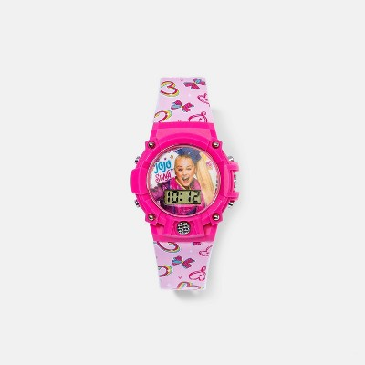 Girls' Nickelodeon JoJo Siwa Hearts Watch - Pink