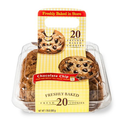 Nestle Toll House Chocolate Chip Cookies - 20ct