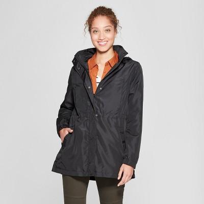 e9e808beffb7c Women's Rain Jacket – A New Day™ Black XS – Target Inventory Checker ...