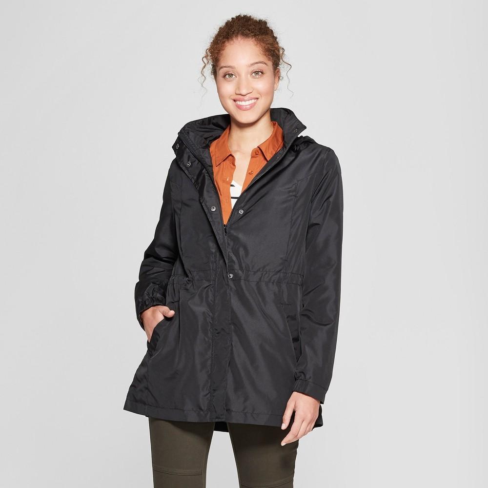 Women's Rain Jacket - A New Day Black Xxl