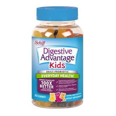 Digestive Advantage Kids Daily Probiotic Gummies - Fruit Flavor