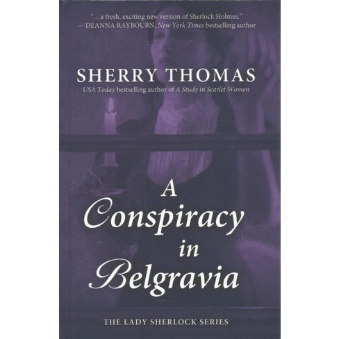 Conspiracy In Belgravia Large Print By Sherry Target