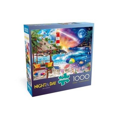 Buffalo Games Night & Day: Life's a Beach Jigsaw Puzzle - 1000pc