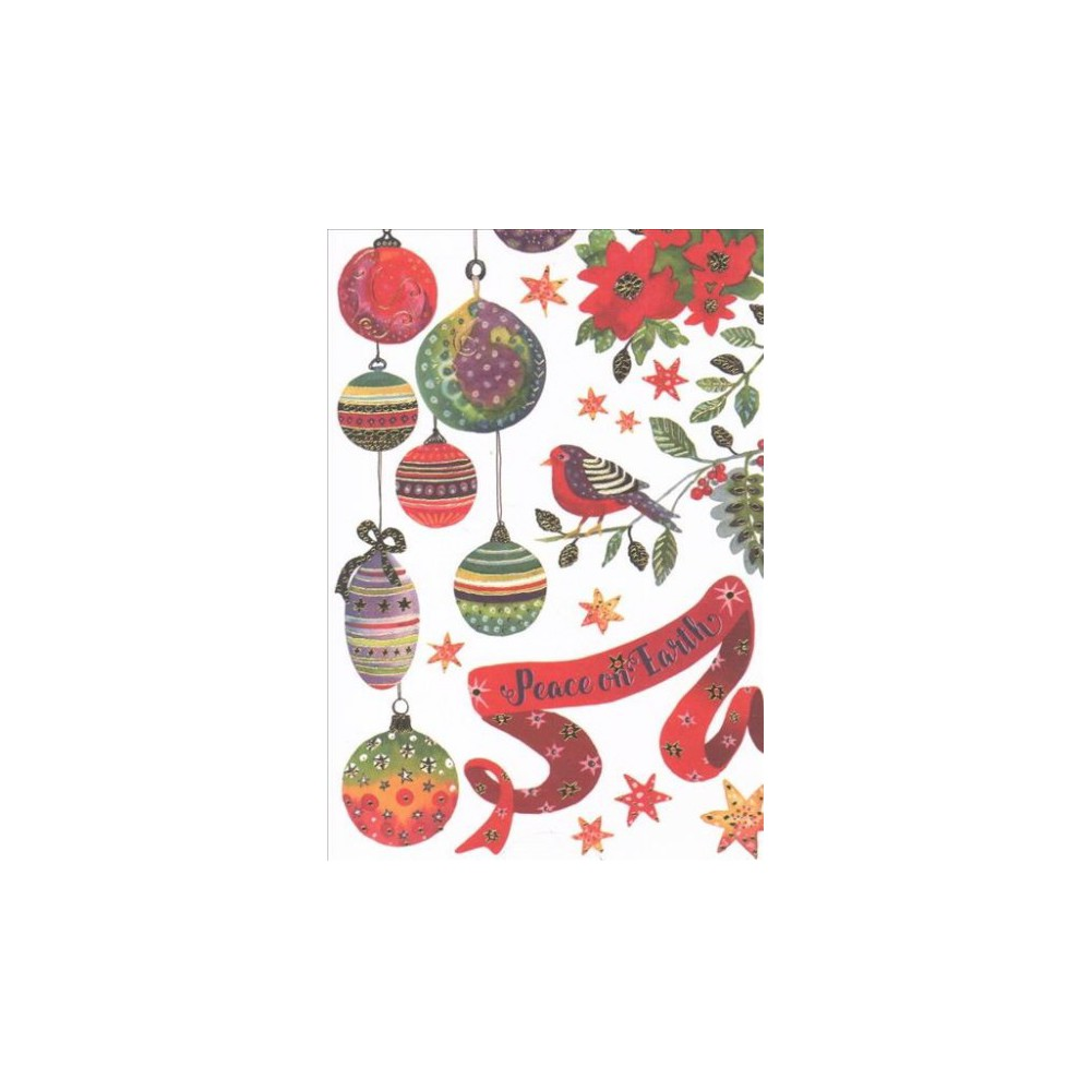 Bird & Ornaments Small Holiday Cards (Stationery) Bird & Ornaments Small Holiday Cards (Stationery)