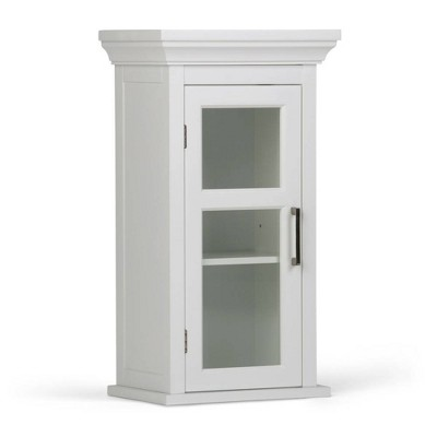 Hayes Single Door Wall Cabinet White - WyndenHall
