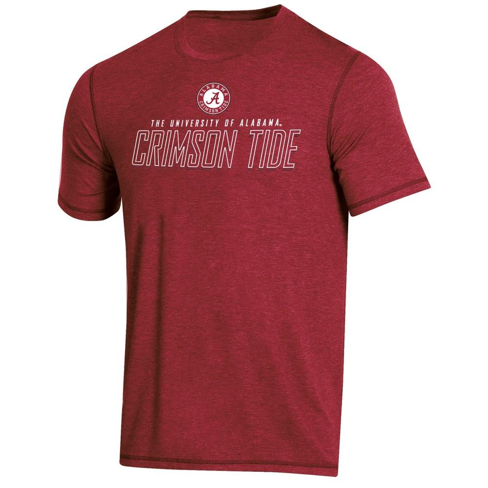NCAA Men's Short Sleeve Poly T-Shirt Alabama Crimson Tide - Xxl, Multicolored