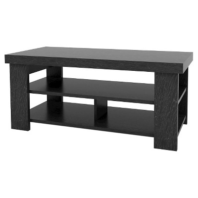 Riverbay Coffee Table Black Oak - Room & Joy