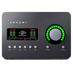 Universal Audio Arrow 2x4 Thunderbolt 3 Audio Interface with Realtime UAD-2 SOLO Core Processing