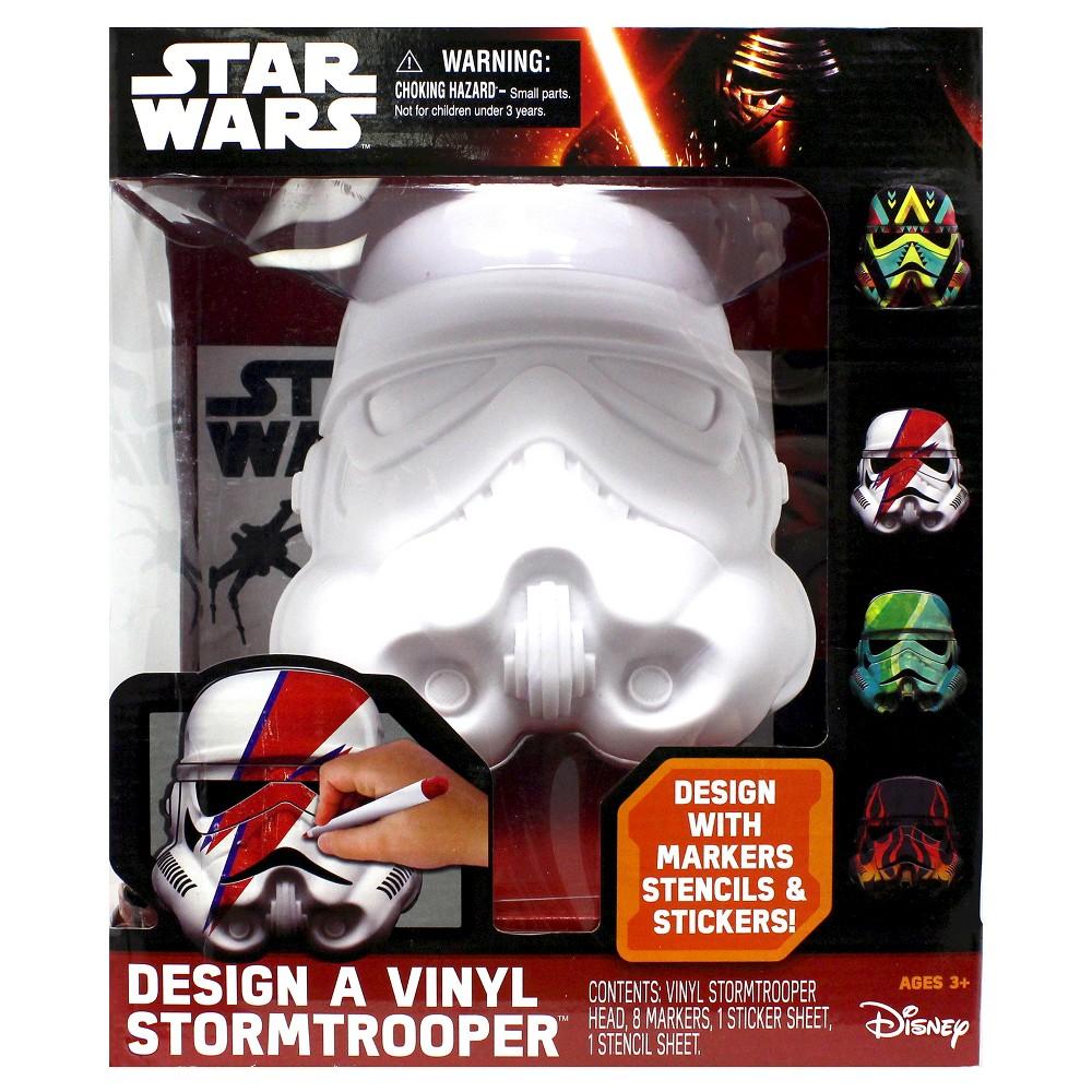 Star Wars Deluxe Design A Vinyl Stormtrooper - Multi-Colored