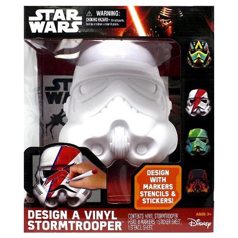 Star Wars Deluxe Design A Vinyl Stormtrooper Multi Colored Target