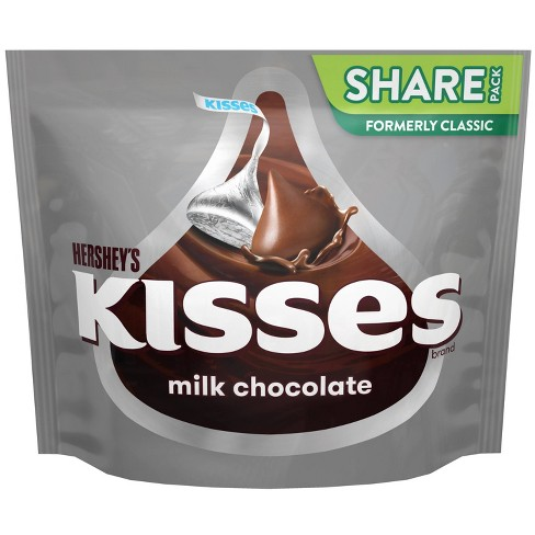 Hershey's Kisses Milk Chocolate Candy - 10.8oz - image 1 of 4