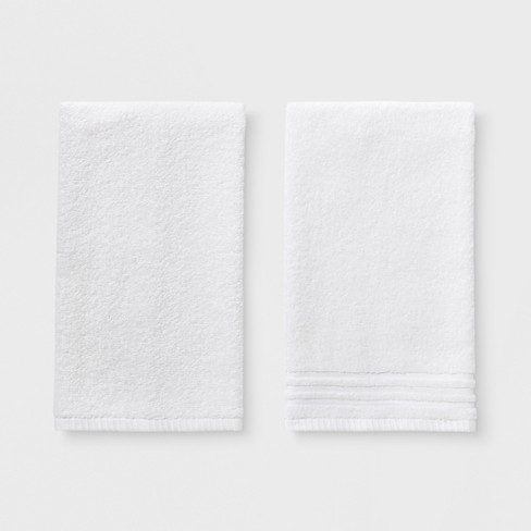 2pk Solid Bath Hand Towel Set Room Essentials