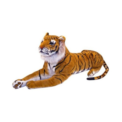 Melissa & Doug® Giant Tiger - Lifelike Stuffed Animal (over 5 feet long) - image 1 of 3
