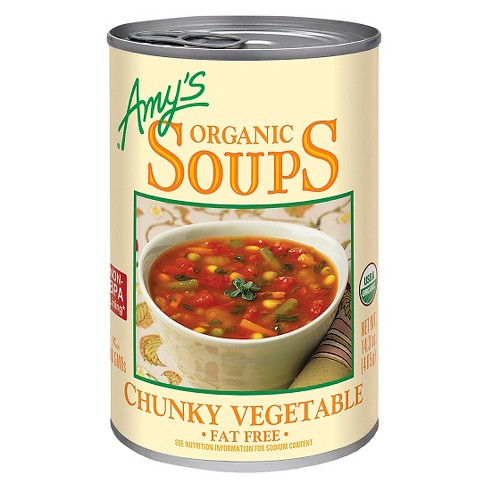 Amy's Organic Fat Free Chunky Vegetable Soup 14.3oz - image 1 of 1
