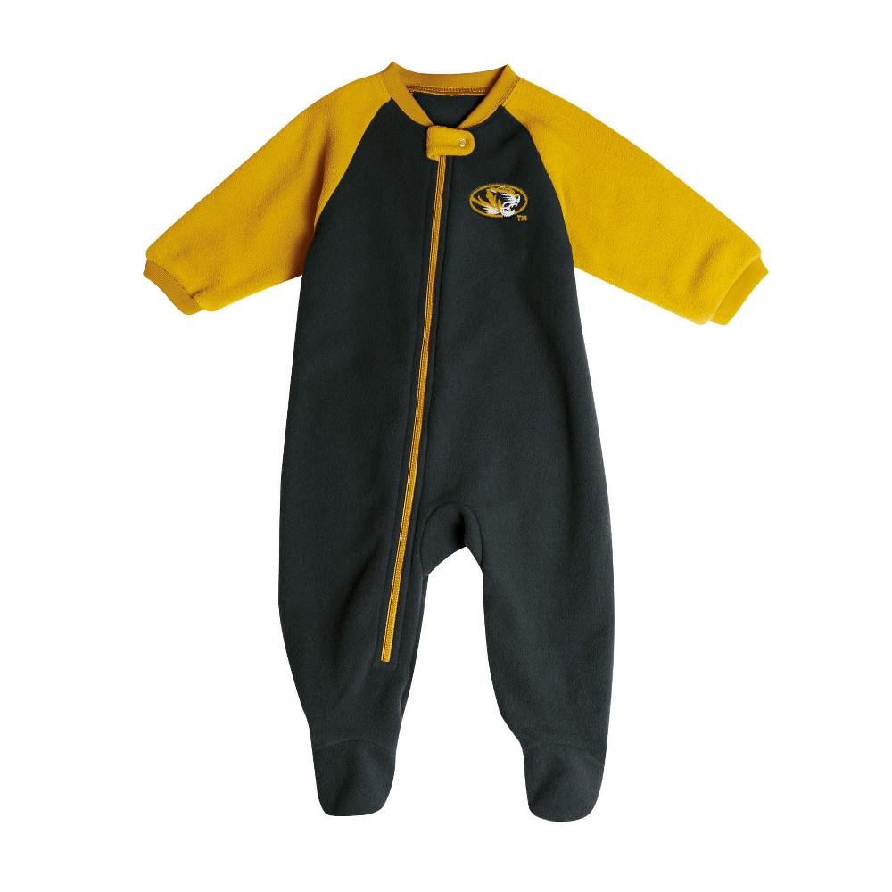 Missouri Tigers Baby Boys' Long Sleeve Blanket Sleeper - 3-6M, Multicolored