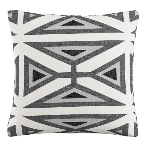 Throw Pillow Skyline Furniture Gray White Black - image 1 of 4