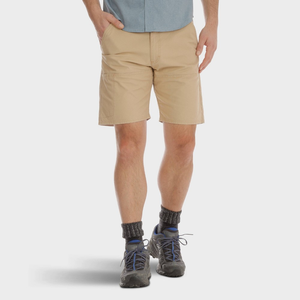 Wrangler Men's 9 Relaxed Fit Cargo Shorts - Tobacco (Black) 30 Wrangler Men's 9 Relaxed Fit Cargo Shorts - Tobacco 30 Gender: Male. Age Group: Adult. Pattern: Solid. Material: Cotton.