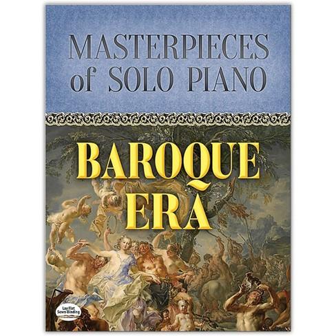 DOVER Masterpieces of Solo Piano: Baroque Era Book Intermediate - image 1 of 1