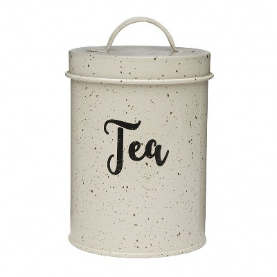 Amici Home Maddox Metal Canister, Tea, 44oz