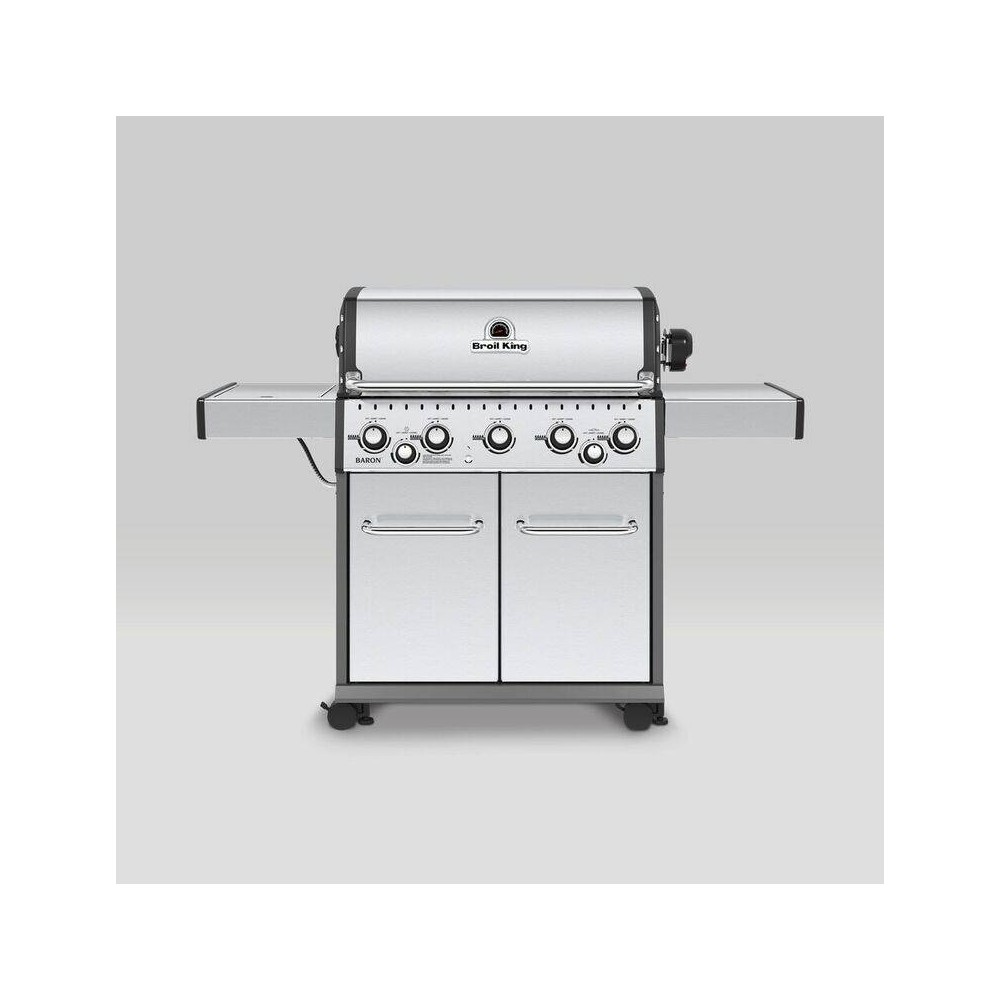 Broil King Baron S590 5-Burner Liquid Propane Gas Grill 923584