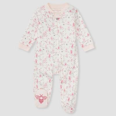 Burt's Bees Baby® Baby Girls' 'Hoot Hoot' Sleep N' Play - Light Pink