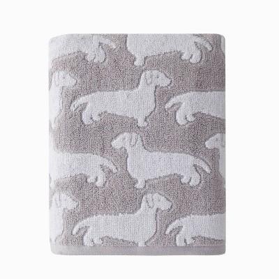 Dog Bath Towel Gray - SKL Home